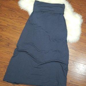 Kirra Fold Over Maxi Skirt